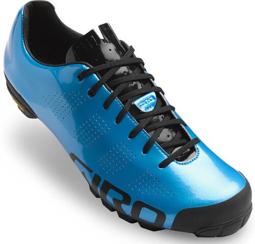 Chaussures Bleues Giro Pour L'été Avec Des Hommes De Fermeture Velcro Azv2yucz